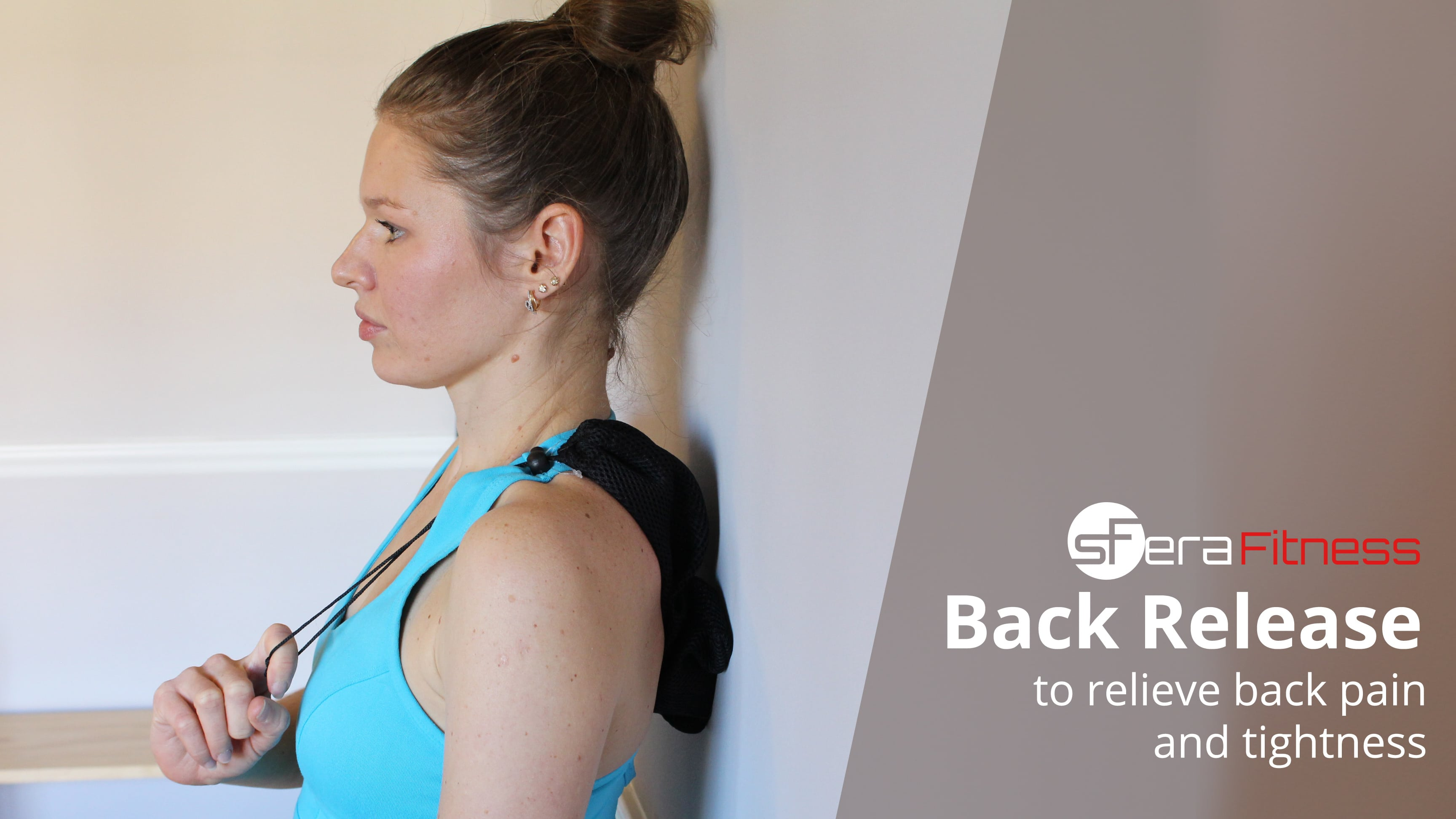 Do-It-Anywhere Back Release to Relieve Back Pain and Soreness Along the Spine