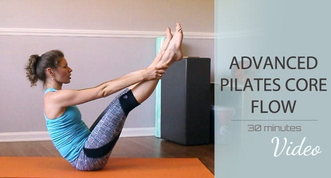 Pilates Core Flow – Intermediate/Advanced Level graphic