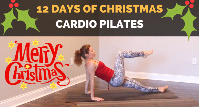 12 days of Christmas: Full Body Pilates Workout graphic