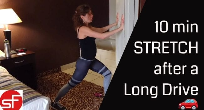 Stretch and Release Muscles after a Long Drive: Back, Hips and Shoulders